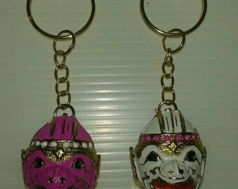 2 pcs Keychain ramayana Hanuman From Thailand collection.