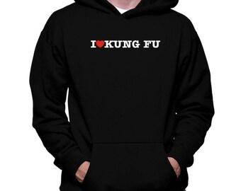 I Love Kung Fu Zip Hoodie G7PTXKDWe8