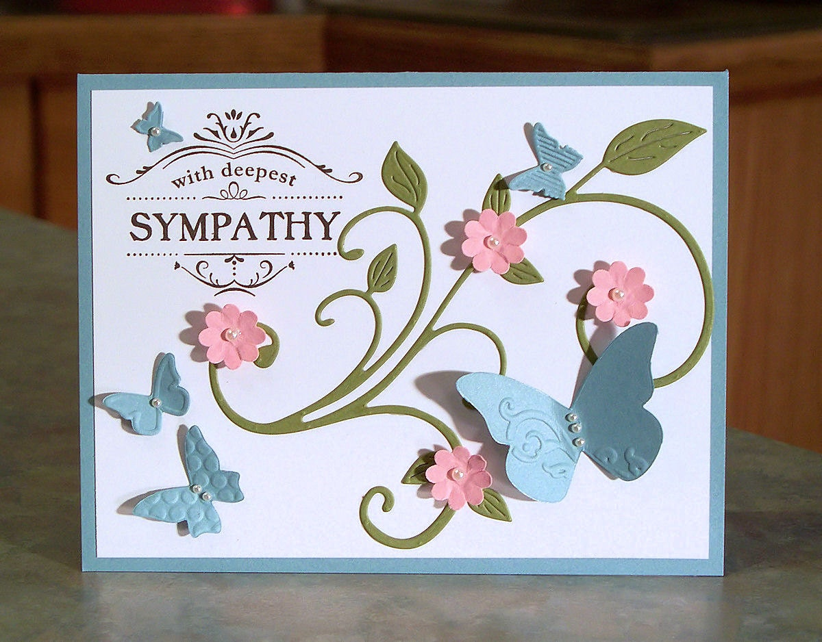 Stampin up sympathy card 4 14 x 5 12 thanks zoom kristyandbryce Gallery