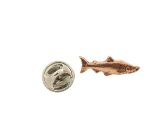 Coho Salmon  ~ Lapel Pin/Brooch ~ FC046MP