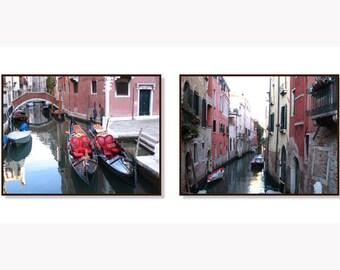 Venice wall art, Venice photography, Travel decor, Gondolas, Italy print, Italy wall art, Venice Canals, Fine Art Print, Italy Print