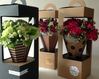 Flower cone box(60ea/set)
