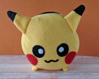 Pikachu Hexagonimal - Stuffed Animal - Pokemon Plushie - Hexagon Toy