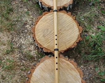 Bamboo Meditative Zen Flute - G Flute - Like Shakuhachi Flute - Meditation Flute - Bamboo Flute - Eco wood