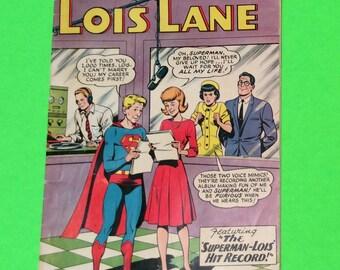 Vintage Comic Book 1963 Superman's Girl Friend Lois Lane (Nov. No. 45)
