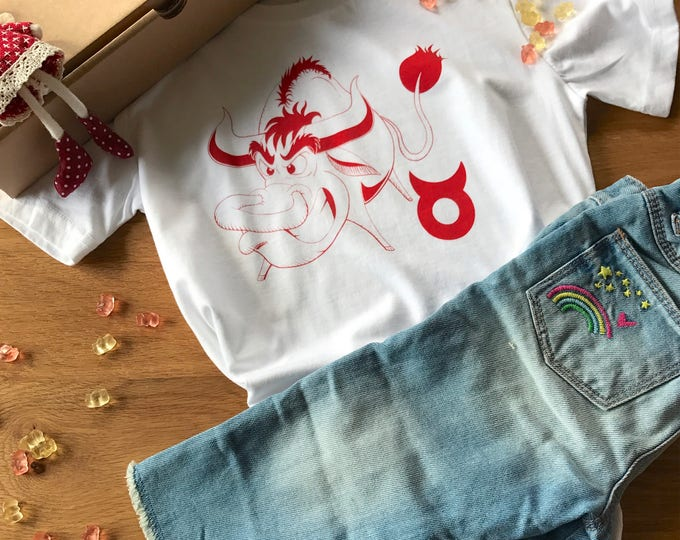 Taurus Zodiac - Organic Toddler T-shirt