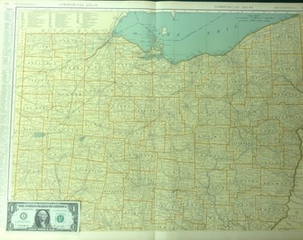 Northern ohio map Etsy