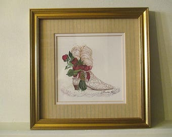 White Shoe - Watercolor for fetish shoe (or foot)