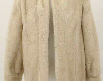 Charmente Santa Montica Real Fur Coat Vintage 1979
