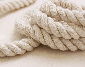 5 Yards Linen Cotton Rope Decorative Rope Cotton Cord 18mm Wide