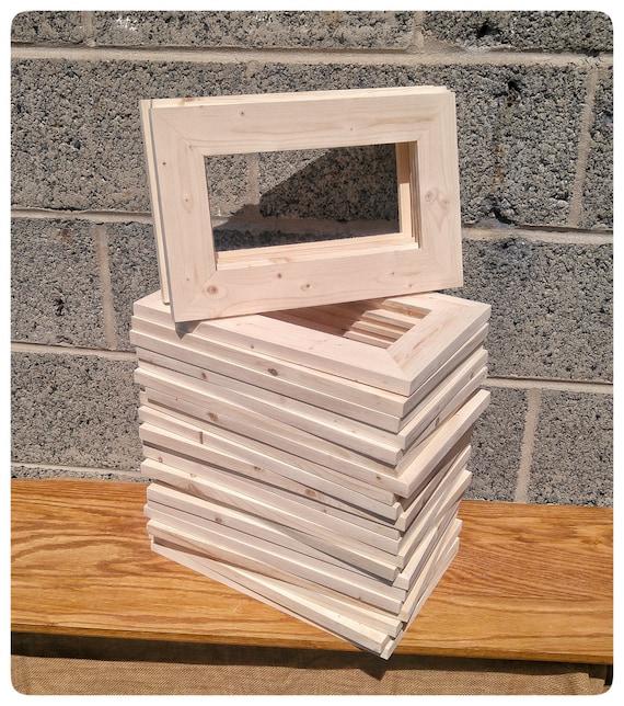 Unfinished Wood Craft Frames Bulk | Crafting