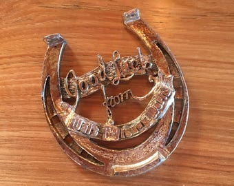 Vintage Good Luck Horseshoe from Walt Disney World