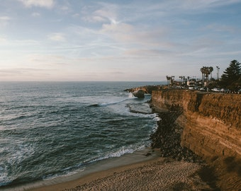 Sunset Cliffs Photo Print, San Diego, CA