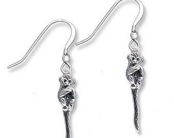 SS Squirrel Monkey Earrings