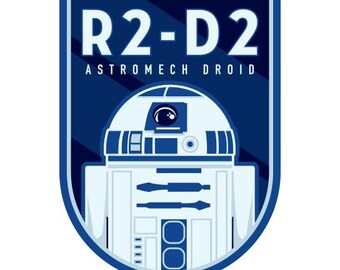 R2-D2 Temporary Tattoo