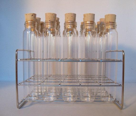 Kitchen Rack Set: Test Tube Spice Rack Set Stainless Steel DIY Kitchen Gift Chef