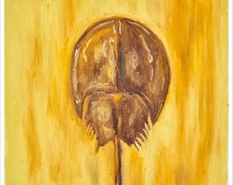 Horseshoe Crab Painting #318