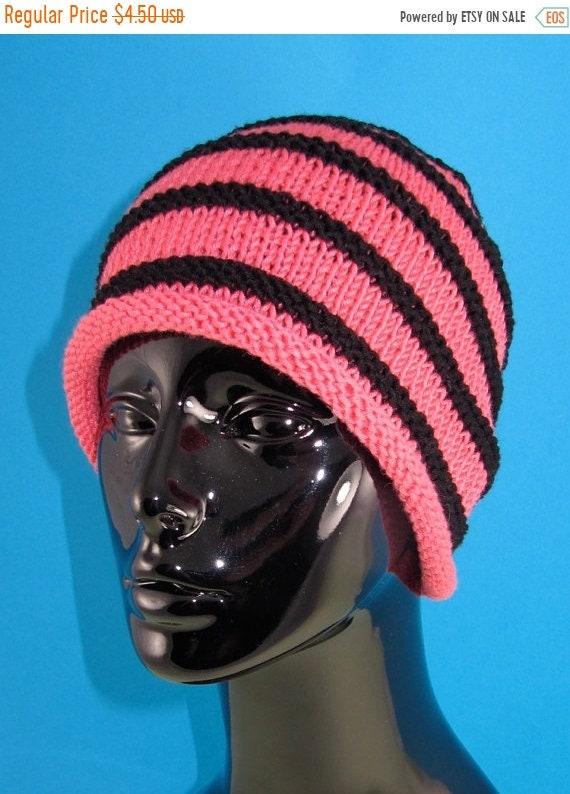 4f4b5627152 HALF PRICE SALE Instant Digital File pdf download knitting pattern - Stripe Roll  Brim Beanie pdf knitting pattern from madmonkeyknits on Etsy Studio