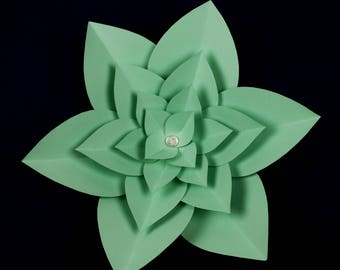 "X-Large, giant paper flower, large paper flower, big paper flower for any occasion ""LAYLA"""