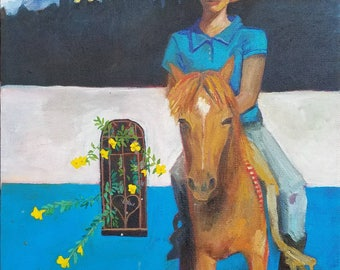 A Woman's Place is On Her Horse