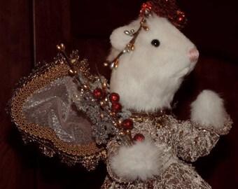 Ferret Fairy Tree Topper