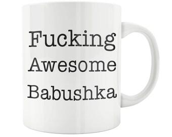 Babushka Mug, Babushka Gift, Babushka Coffee Mug, Babushka, Mother's Day, Birthday Christmas Gift Present Mug, Grandmother Gift, Grandma