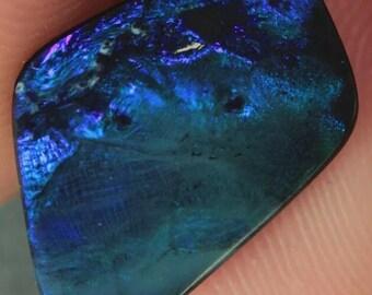 3.08ct 100% Natural Black Australian Opal