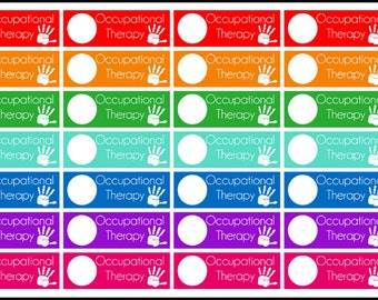 Occupational Therapy Planner Stickers