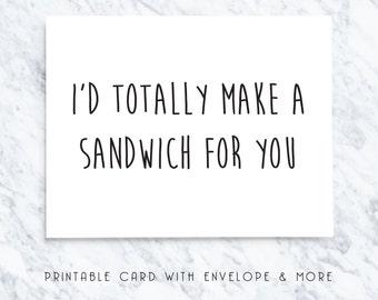 anniversary printable card, card for husband, anniversary card for husband, digital card for husband, love you husband card