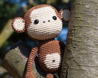 Cute Monkey Amigurumi crochet pattern