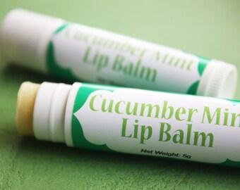 Cucumber Mint Lip Balm