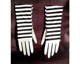 Striped Wristwarmer / Armwarmer