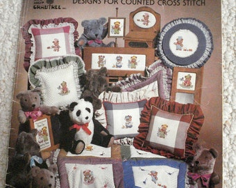 Cross Stitch Charts featuring Country Bears Designs - Counted Cross Stitch