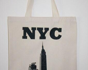 "15""x16"" NYC Tote Bag."