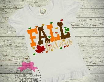 girl fall shirt. fallbulous.