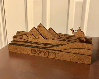 Egyptian Pyramids - Laser Cut