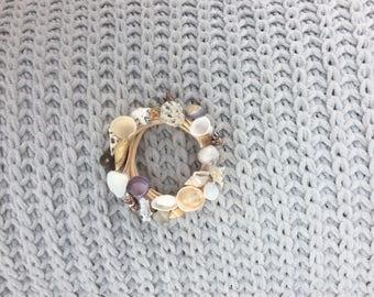 Tiny Shell Wreath