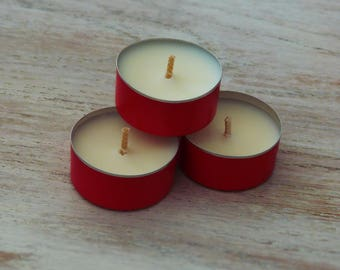 Natural handcrafted candles (X 10)