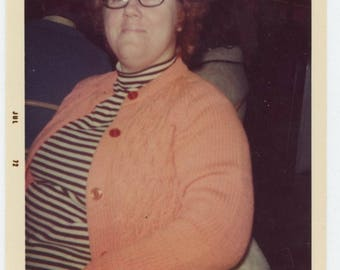 Vintage Snapshot Photo: Linda, 1972 (711622)