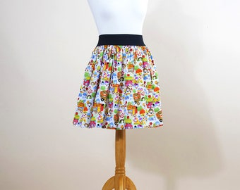 KAWAII cotton SKIRT with elastic waist