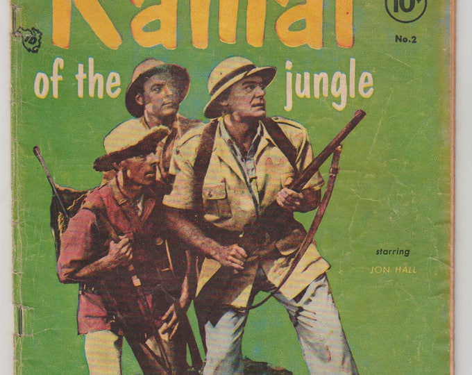 Ramar of the Jungle; Vol 1, 2, Golden Age Comic Book. VG- (3.5). September 1955. Toby Press