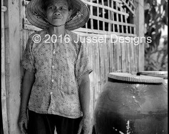 Old Woman and Her Water Jug