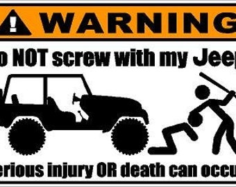 Jeep sticker for Mahindra thar, commander and others