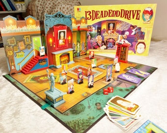 13 Dead End Drive 99.9% complete- photos of set up within! MB Games 1994