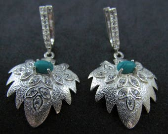 Handmade 925 Sterling Silver Antique Charming Designer Earrings