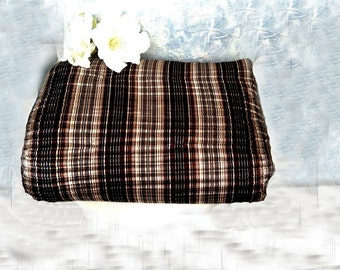 Bed Runner Accent Bed Scarf, earth tones