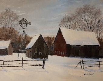 Don Oder's Barns