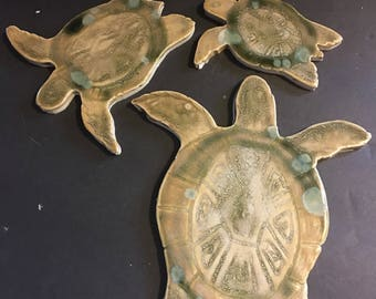 Turtle Tile Ceramic Stoneware for Install Artful High End coloration