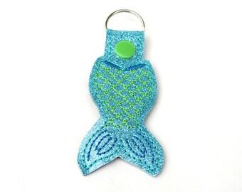 Mermaid Tail Keychain | Mermaid Keychain | Mermaid | Stocking Stuffer | Gift for Her | Mom Gift | Gifts under 10 | Mermaid Life | Kawaii