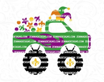 boy Mardi Gras svg, monster truck svg, Mardi Gras svg files, Mardi Gras svg, Mardi Gras boy svg, boy svg files, Mardi gras truck svg